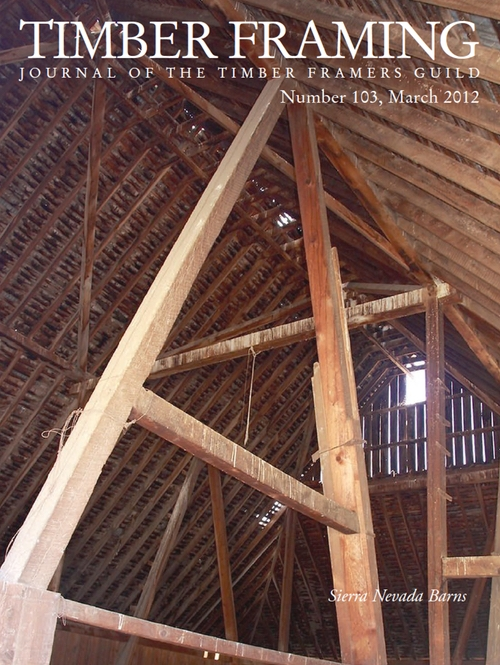 TIMBER FRAMING 103 (Mar 2012)