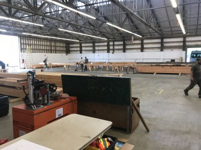 The Stage is Set: Lake Roesiger Community Building Project