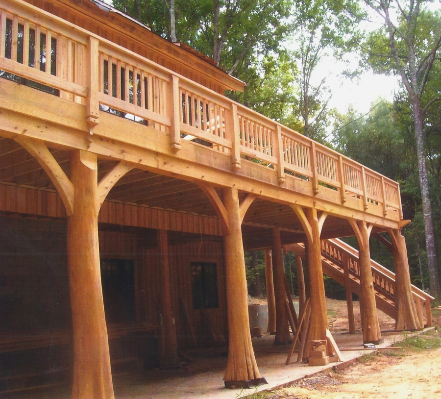 Timber Outdoor Living: Timber Framers Guild