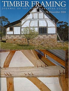 Back Issues of TIMBER FRAMING